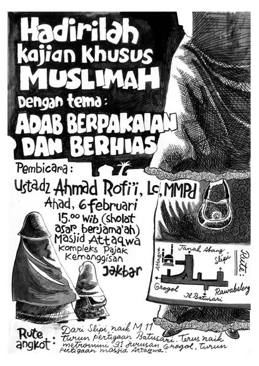 Dalil Dalil Gambar Panduan Pakaian Muslim Dan Muslimah