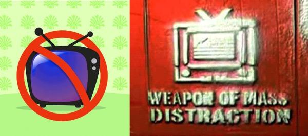 Kerusakan Akibat TV & Parabola